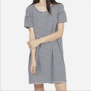 Everlane causal stripped t-shirt dress size SP